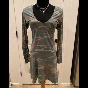 American Rag camo dress 🌸Size Large